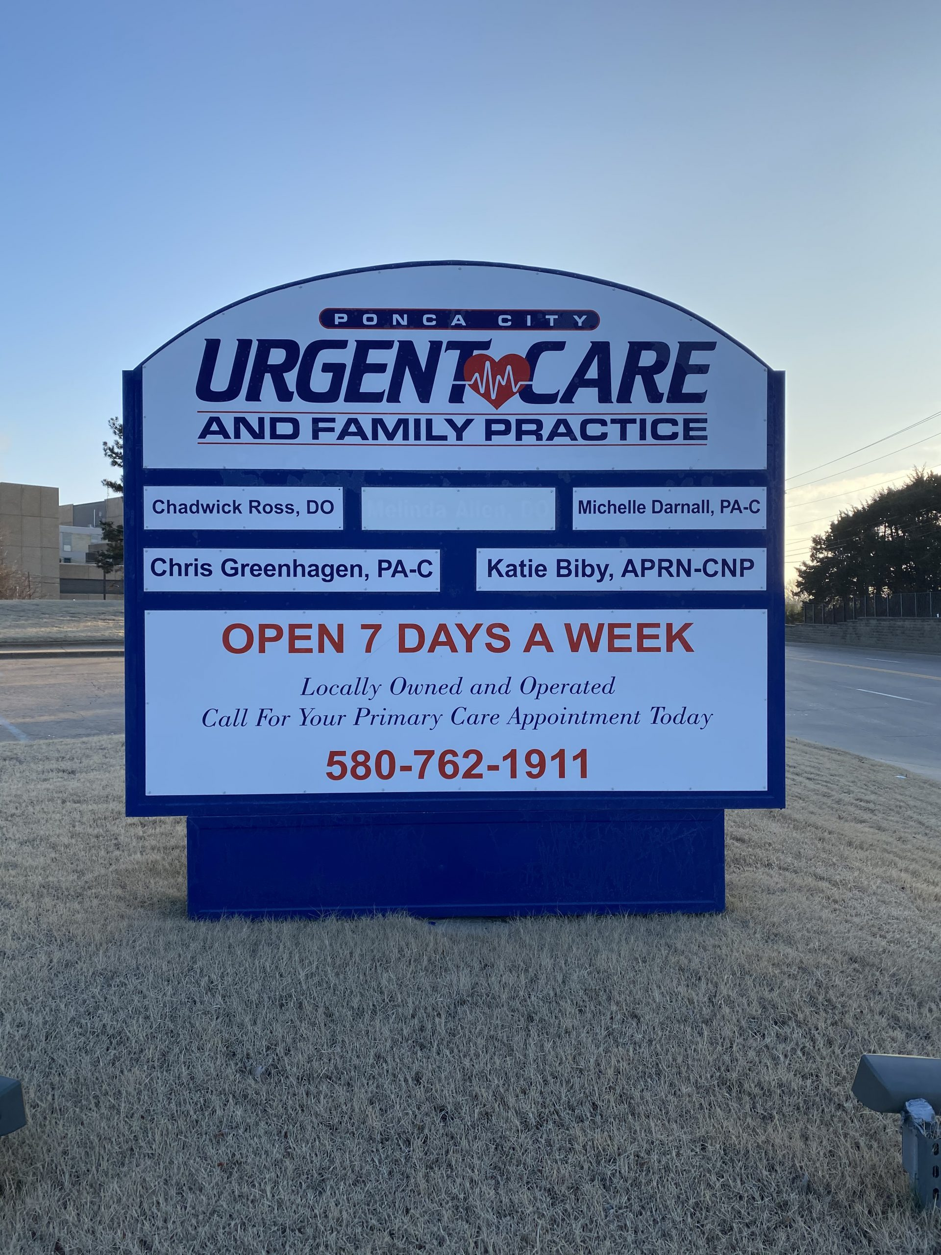 ponca city urgent care and family doctor